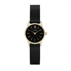 Montre Femme Cluse La Vedette mesh gold black/black 24mm CL50023