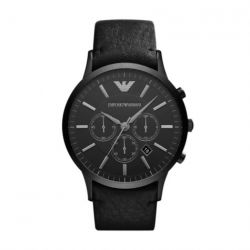 Montre Homme Emporio Armani chrono full black AR2461