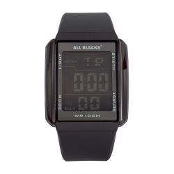 Montre All Blacks digitale rectangle full black 680033