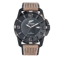 Montre All Blacks analogique cuir marron clair 680299