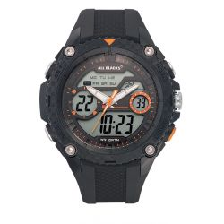 Montre All Blacks analogique et digitale 680358