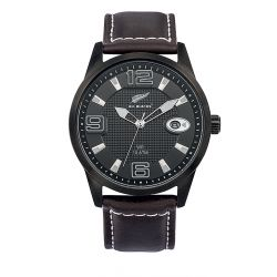 Montre All Blacks analogique cuir marron 680402