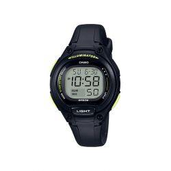 Casio digital junior tout noir LW-203-1BVEF