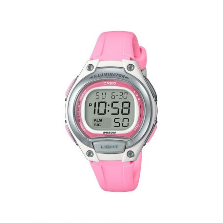 Casio digital rose pour fillette ou femme LW-203-4AVEF