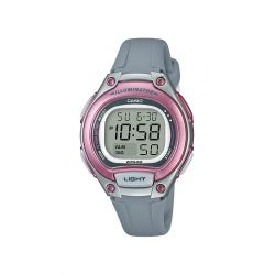 Casio digital gris/rose pour fillette ou femme LW-203-8AVEF