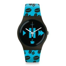 Montre Swatch New Gent pour Homme SUOC106 - COFFEE BLUE-S