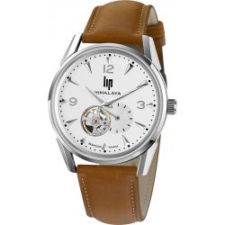 Montre Homme Lip Himalaya 40mm automatique coeur battant 671558 - Himalaya 40