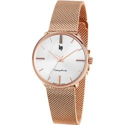 Montre Lip Dauphine 34mm rose gold 671321 - Dauphine 34