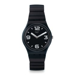 Montre Swatch Gent extensible small pour Femme GB299B - BLACKHOT S