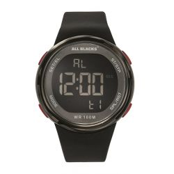 Montre All Blacks digitale résine noire 680413