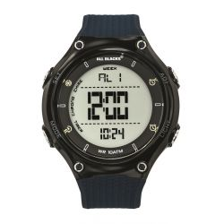 Montre All Blacks digitale résine bleue 680406