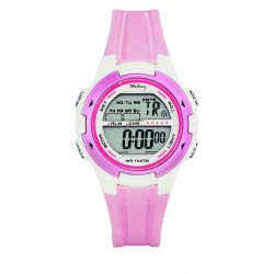 Montre Tekday digitale rose pour fille 653946