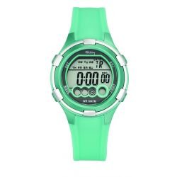 Montre Tekday digitale turquoise pour fille 653859