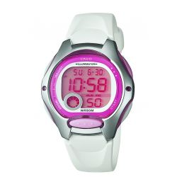 Montre Casio Junior rose et blanc LW-200-7AVDF