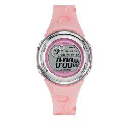 Montre Tekday digitale rose pour fille 653958
