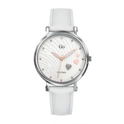 Montre femme GO Girl Only St Valentin cuir blanc 699919
