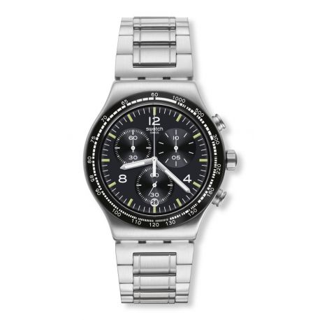 Montre Swatch Irony Chrono 47mm pour Homme YVS444GC - NIGHT FLIGHT AGAIN