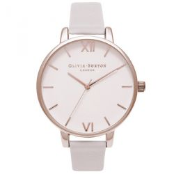 Olivia Burton Big Dial Blush Dial & Rose Gold Watch 38mm OB16BD95
