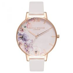 Olivia Burton Watercolour Florals Blush Rose Gold OB16PP31