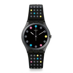 Montre Swatch Gent 34mm Unisex GB305 - BOULE A FACETTE