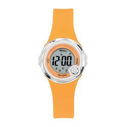 Montre Tekday digital orange pour fille 653271