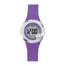 Montre Tekday digital violet pour fille 653272