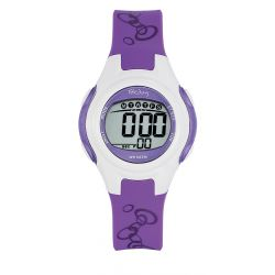 Montre Tekday digital violet pour fille 653927
