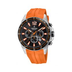 Montre Homme Festina Chrono résine orange F20376/5