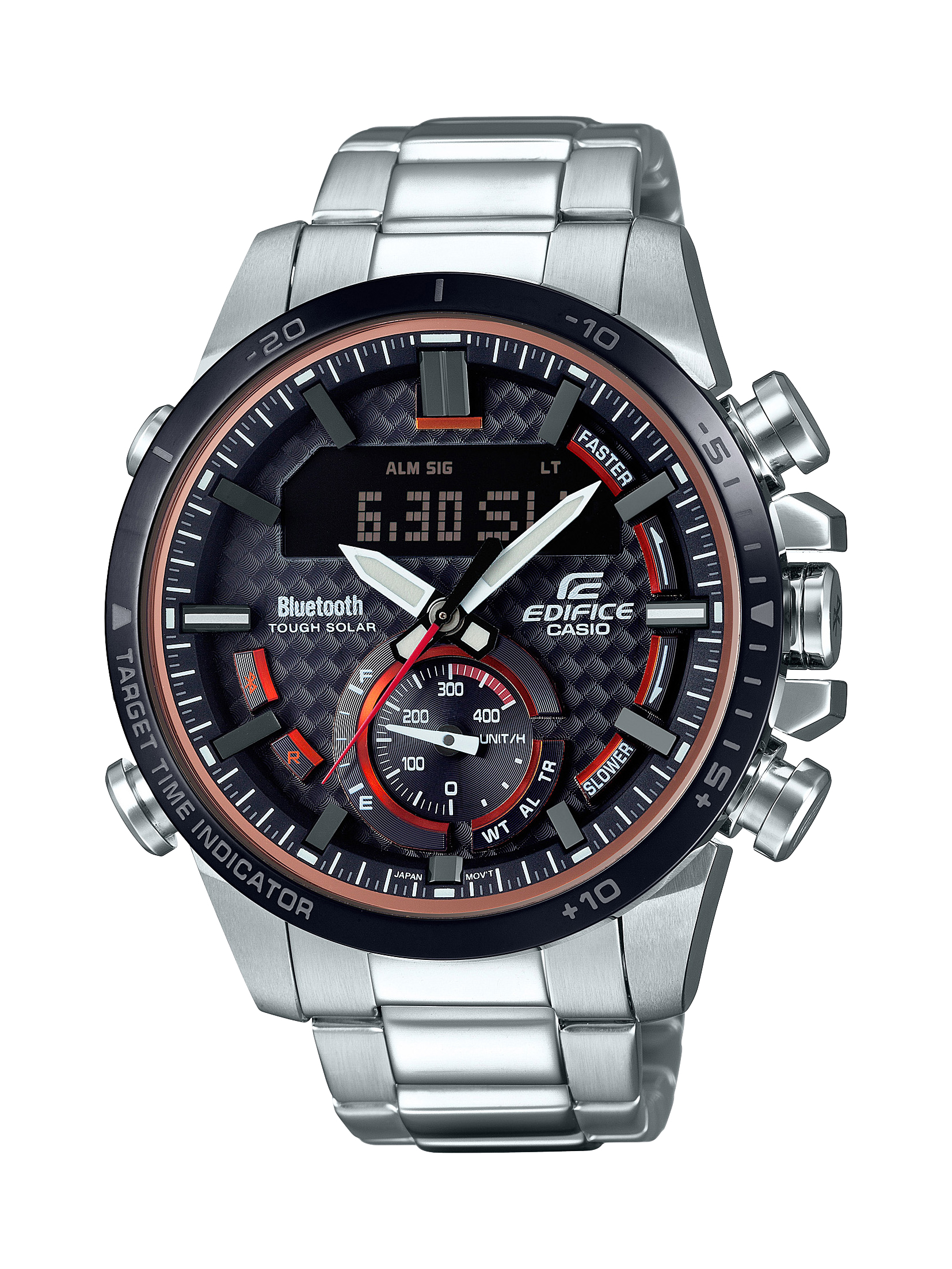 montre casio ecb bluethouth c discount