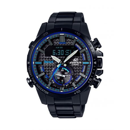 montre casio edifice ecb 800dc 1aef bluetooth solaire en magasin paris. Black Bedroom Furniture Sets. Home Design Ideas