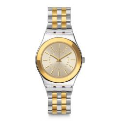 Montre Swatch Irony Medium 33mm pour Femme YLS207G - GOLDENSILVER