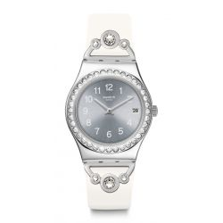 Montre Swatch Irony Medium 33mm pour Femme YLS463 - PRETTY IN WHITE