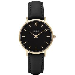 Montre Femme Cluse Minuit gold black/black 33mm CL30004