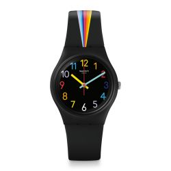 Montre Swatch Gent 34mm pour Femme GB311 - FOUNTAIN OF COLORS
