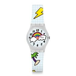 Montre Swatch Lady 25mm pour Femme LW160 - SCHOOL BREAK