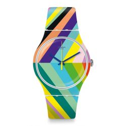 Montre Swatch New Gent 41mm Unisexe SUOW155 - PSYCADELIC