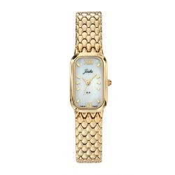 Montre Femme Joalia rectangle dorée 630609
