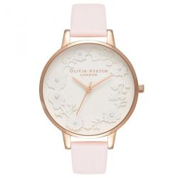 Olivia Burton Artisan Dial Rose Dragée et Or Rose 38mm OB16AR01
