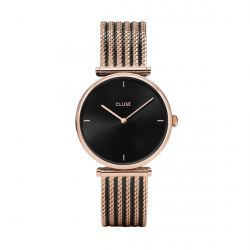 Montre Femme Cluse Triomphe 33mm Rose Gold Black/Black CL61005