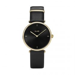 Montre Femme Cluse Triomphe 33mm Gold Black/Black CL61006