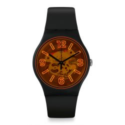 Montre Homme Swatch New Gent SUOB164 - ORANGEBOOST