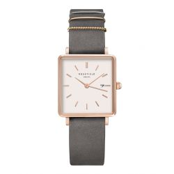 Montre Femme Rosefield The Boxy QWGR-Q12