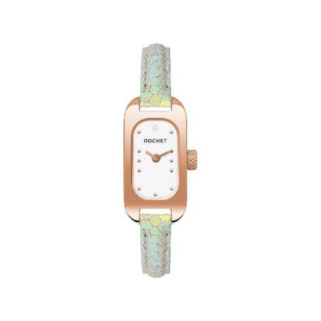 Montre Rochet rectangle pour femme M1RB375ST02