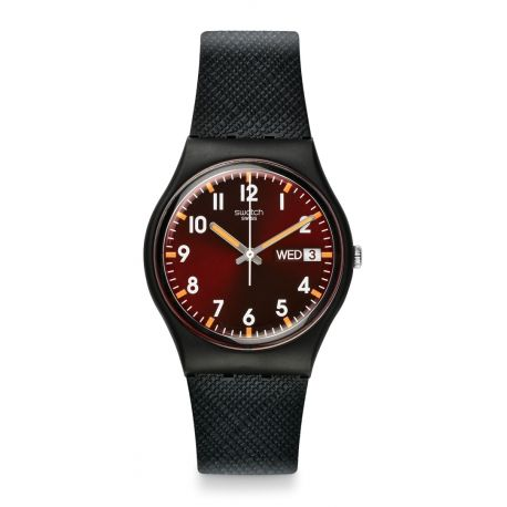Montre Mixte Swatch GB753 - SIR RED
