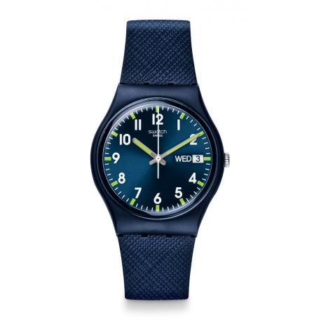 Montre Mixte Swatch GN718 - SIR BLUE