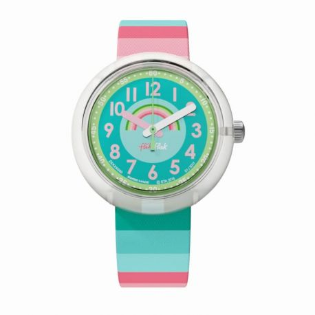 Montre Flik Flak pour Fille FPNP014 - STRIPY DREAMS