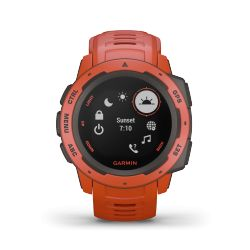 Montre Garmin Instinct Rouge Feu 010-02064-02