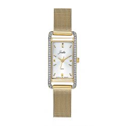 Montre Femme Joalia rectangle dorée 630635