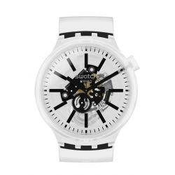 Montre homme Swatch Big Bold Jelly SO27E101 - BLACKINJELLY