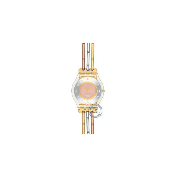 Montre Femme Swatch SFK240B - TRI GOLD SMALL